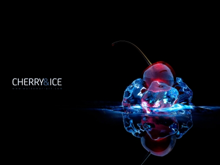 "Free Wallpaper ""Cherry and Ice"""