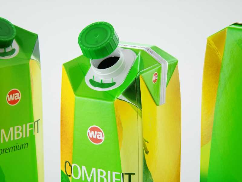 SIG Combifit Premium 1000ml with CombiSwift carton packaging 3D model