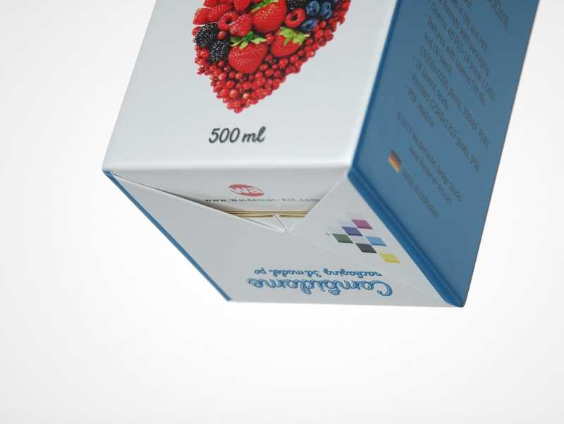 SIG Combidome 500ml carton packaging 3D model