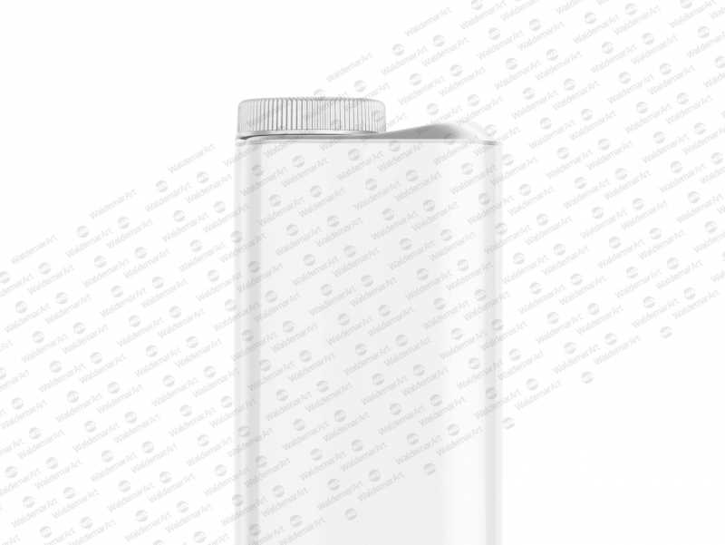 Mockup of Tetra Top 1000ml with Orinoco S38 - Side view