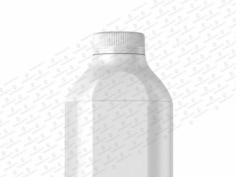 Packaging MockUp of Tetra Pack Evero Aseptic Base-D 1000ml with OrionTop-O38A Side View