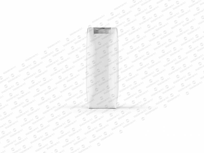 Packaging Mockup of Tetra Pack Prisma 250ml with PullTab - Front View