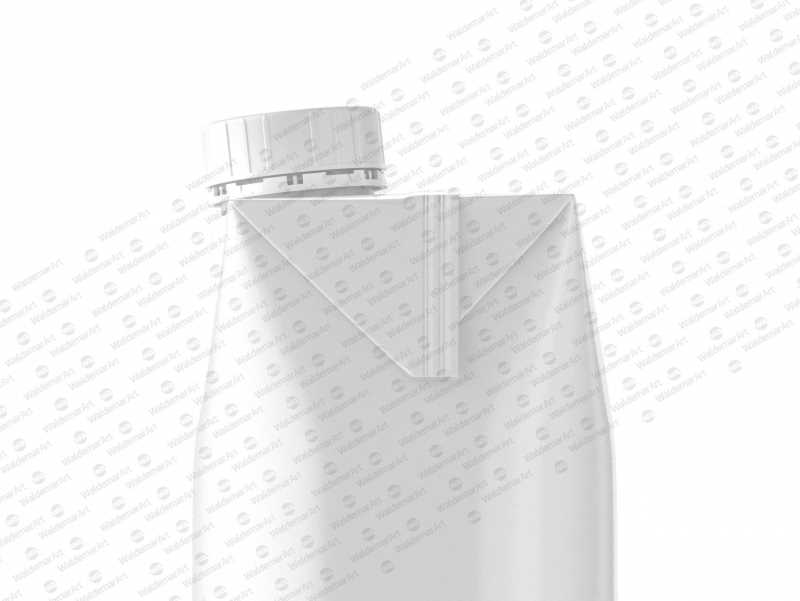 Photoshop Mockup of Cartron packaging of Tetra Pack Prisma 500ml Side View