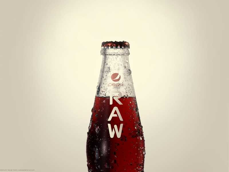 PEPSI RAW - Professional 3D model and scene (Physical renderer)