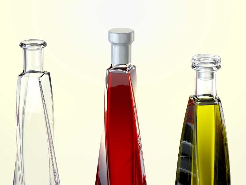 Swirl - packaging 3d model of the bottle for various products