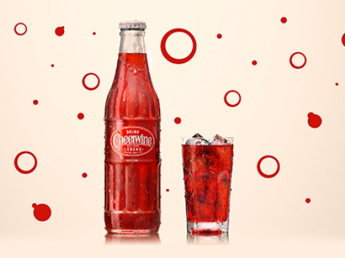 Cheers with Cheerwine!