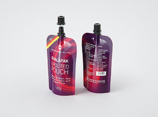 Elopak Pure-Pak Classic 1000ml packaging 3d model