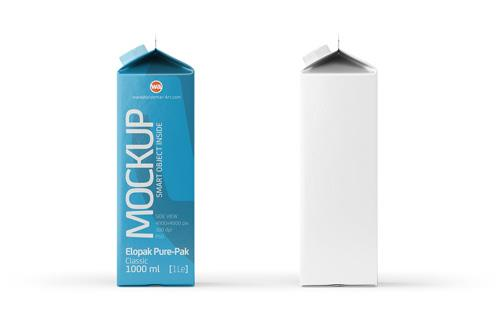 Elopak Pure-Pak 3D model - Diamond-Curve Aseptic 500ml