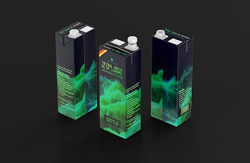 Elopak 3d model - Pure-Pak Classic 500ml packaging 3d model