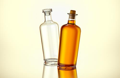MAXIMUS - 3d model of the glass bottle for alcohol products