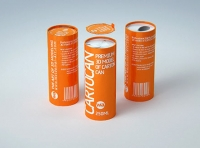 Packaging 3D model of carton can Cartocan 250ml