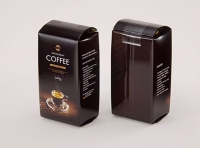 Coffee plastic bag 340g packaging 3d model