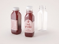Smoothie Plastic Bottle 300ml packaging 3d model