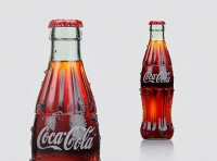 Coca-Cola bottle 3D visualization