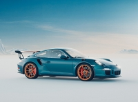 3D visualization of Porsche 911 GT3 RS