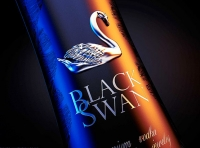 BLACKSWAN - Packaging design for a Premium Vodka