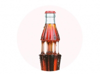 Coca-Cola Goo 3D visualization